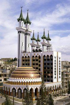 Al-Rahman Mosque in Aleppo, Syria