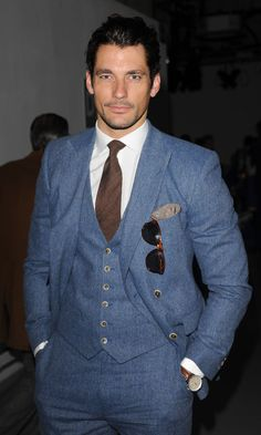 David Gandy Wearing Reiss - London Collections MEN Spring 2014 Day ...