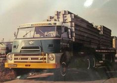 DAF-2400 BB-03-64 Boerman Hardinxveld . Train Truck, Road Train, Huge Truck, S Car, Classic Trucks, Cars And Motorcycles, Netherlands, Vehicles, Trucks
