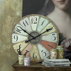 this vintage clock