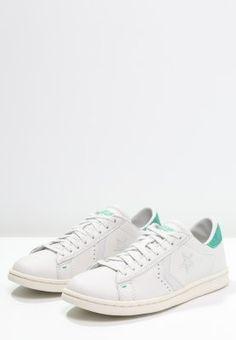 Converse PRO OX - Tenisówki i Trampki - white dust/green