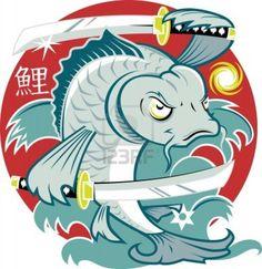Koi Samurai - You want sushi, I will make YOU  sushi !