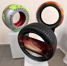 Cooper tyre art