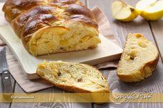 Pan brioche alle mele ripieno ricetta | Ho Voglia di Dolce