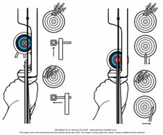 Beginners Archery - Basic Aim Get Recurve Bows From… Archery Lessons, Archery Tips, Archery Hunting, Bow Hunting, Archery Sport, Archery Targets, Survival Tips, Survival Skills, Archery Training