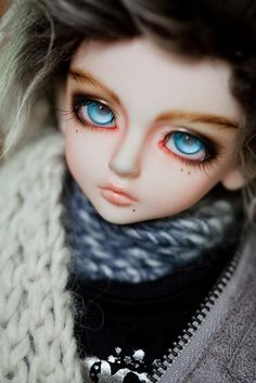 Kid Delf Bory Faceup Commission by aEthEr hEad, via Flickr // Ball Joint Doll BJD