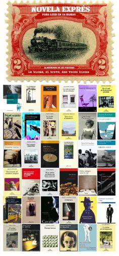 """Novela Exprés. Una """"mirilla"""" de la Biblioteca Municipal de Móstoles. http://bibliotecademostoles.wordpress.com/"""