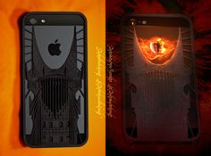 Eye of Sauron iPhone 5 case by joabaldwin on Shapeways