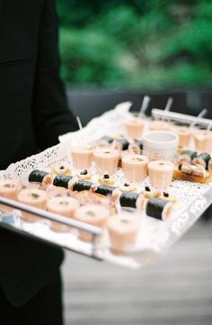 Sushi Plate Wedding | photography by http://www.alexanderjamesphotography.co.uk