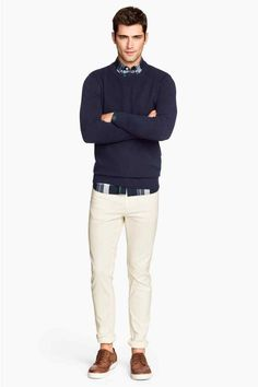 Pantalon en twill Skinny fit | H&M