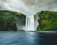 Gotta go here some day. Skogafoss, Iceland | Photo by Cameron Goold (via Best Earth Pics on Twitter)