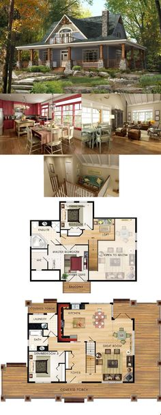 Beaver Homes & Cottages - Limberlost :: 1748 sq. ft. But master bedroom on main floor
