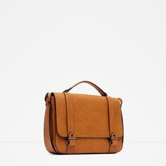 Image 3 of CONVERTIBLE CITY MESSENGER BAG from Zara