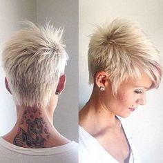 Short Funky Hairstyles For Grey Hair By Rosethomasuk Short Hair