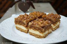 Gluténmentes élet: Gluténmentes mézes-diós kocka