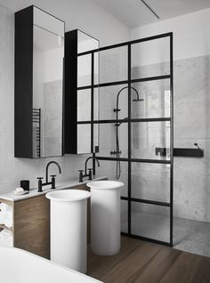 Bathroom Interior - Normonby - Whiting Architects - Melbourne, VIC, Australia - The Local Project 12