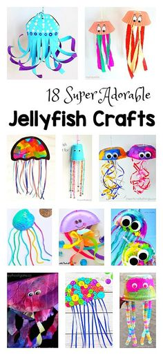 18 Jellyfish Crafts