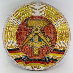 """DDR Museum - Museum: Objektdatenbank - """"Nationalemblem DDR"""" Copyright: DDR Museum, Berlin. Eine kommerzielle Nutzung des Bildes ist nicht erlaubt, but feel free to repin it!"""