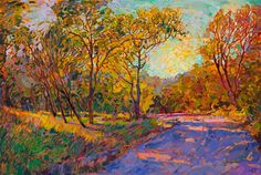 Contemporary impressionism oil paintings for art collectors worldwide.