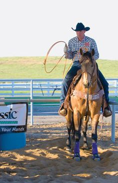 Team Roping How To: Use Your Feet