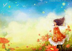 ТАККАЯ : Алиса в стране чудес глазами корейского иллюстратора Ким Мин Джи