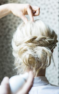 Photography: Kathryn McCrary  - www.kathrynmccrary.com/thehome  View entire slideshow: How To: Dutch Braid Crown  on http://www.stylemepretty.com/collection/1050/