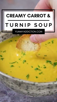 Healthy Soup Recipes, Healthy Cooking, Vegetarian Recipes, Hanbok Wedding, Turnip Soup, 30 Min Meals, Chowder Soup, Green Cake, Dash Diet