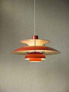 LOUIS POULSEN PH 5 danish modern design lamp DÄNEMARK 70er eames jacobsen era | eBay