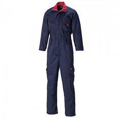 eb5def2ab9 Dickies Ladies Workwear WD4839W Navy Redhawk Zip Front Work Overalls Ladies  Workwear, Dickies Workwear,