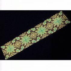Lacy Turquoise Bracelet - Loom Bead Pattern