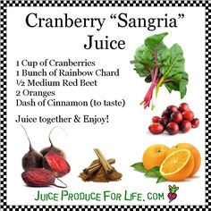 Cranberry Sangria Juice Recipe | Flickr - Photo Sharing!