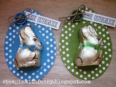 stampin up ostern ostereier easter egg hasen bunny schokoladenei ei ei ei oval framelits goodie polka dot parade - STAMPINWITHFANNY