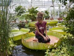 The Kaisaniemi botanic garden in Helsinki