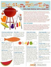 Healthy Summer Picnics Tip Sheet - American Association of Diabetes Educators