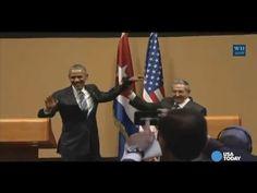 Обама и Кастро обменялись странным рукопожатием - Новости Политики - Новости Mail.Ru