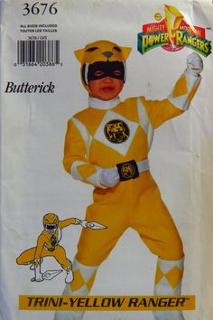 Butterick 3676 Child's Costume with Transfer