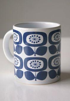 Koffiemok - jaren '60 - Western Germany - www.dewittemuur.nl