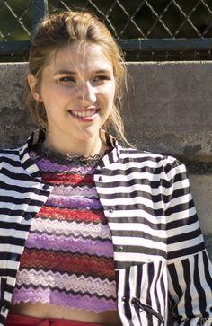 LOOK - Rayures colorées | Site DIY et couture