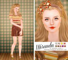 Modern_Lover's Blog || Custom content for The Sims 3: Miranda