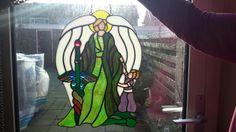 Aartsengel Rafaël gemaakt in Tiffany. ❤❤❤❤
