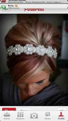 Red, blonde & sparkle