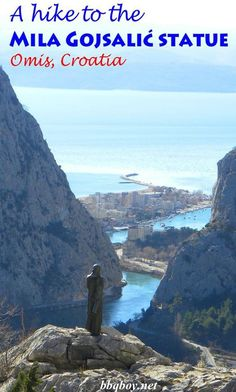 I've previously written about Omis and why it is my favorite Croatian town. But there is another attraction outside town that I had previously heard of and had always wanted to see – the Mila Gojsalić statue. This post covers that #bbqboy #Omis #Croatia #MilaGojsalic #travel