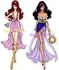 Ilustrações de moda da Disney | Just Lia                              …