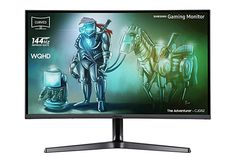 Buy Samsung 32 Inch QHD Curved Gaming Monitor at Argos. Thousands of products for same day delivery or fast store collection. Samsung, Cool Pictures, Beautiful Pictures, Audio, Alienware, Built In Speakers, Pixel, Display