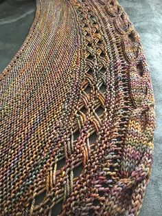 Wandering Moon by Michelle Hunter, knitted by McMommy4 | malabrigo Arroyo in Piedras