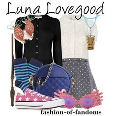 """Luna Lovegood (Harry Potter)"" by fofandoms on Polyvore"