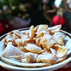 CROSTOLI - Italian Bow Knot Cookies by oldcook