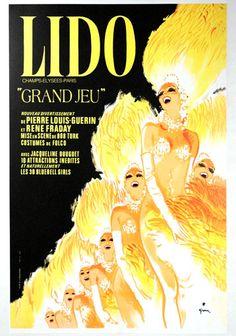 Lido: Grand Jeu by René Gruau