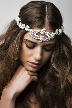 Brillante es la colección de accesorios de novia de la firma Bo & Luca.