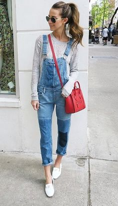 A flattering pair of overalls go a long way. Rock them with bold accessories to really make your look POP.